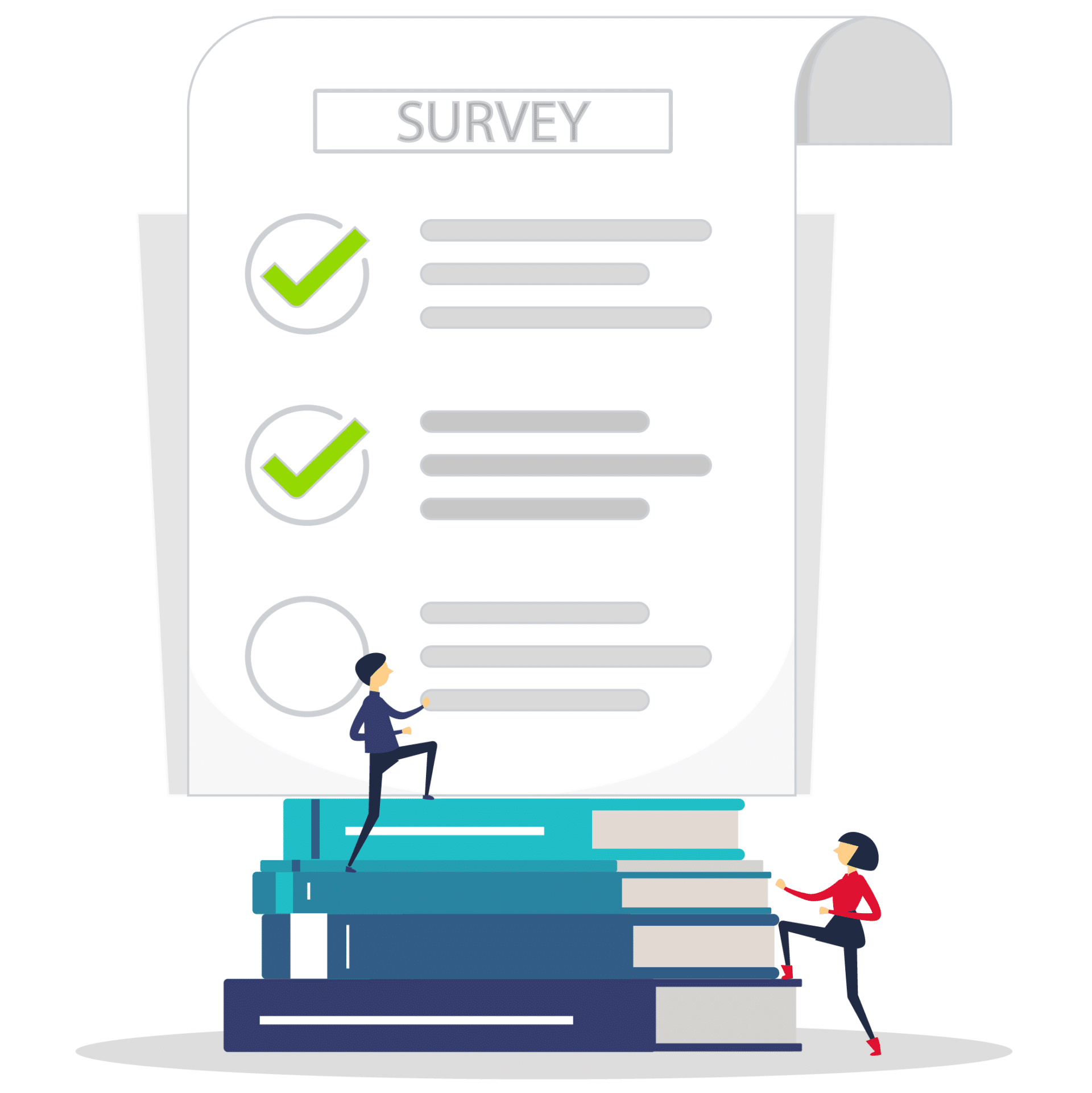 Survey on books