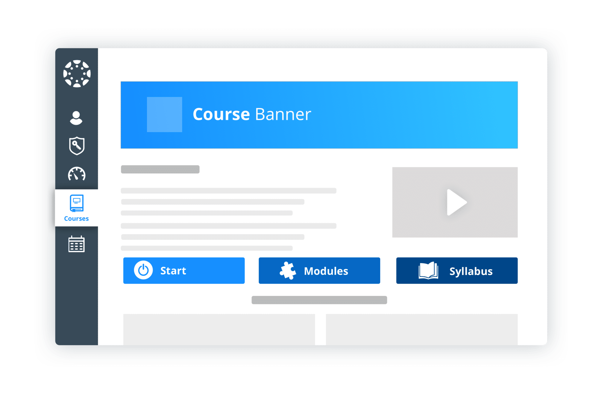 Canvas course templates